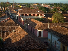 Rooftops of colonial Granada