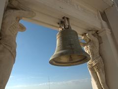 Church bell at Basílica de la Asunción, the largest church in Central America; Leon