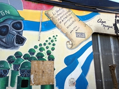 Leon, the city of revolution, as depicted through its street art