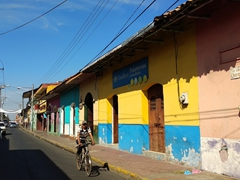 Colorful houses; Leon