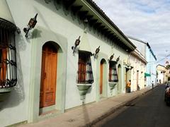 Colonial architecture in Granada