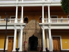 """Exterior of """"Casa de los Tres Mundos""""; an art and music school in Granada"""
