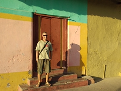 Robby with a splash of color; Granada