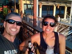 2 for 1 happy hour at San Juan del Sur