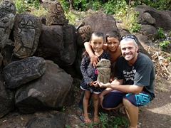 Our petroglyph tour guides