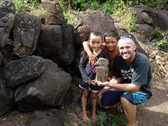 Our petroglyph tour guides