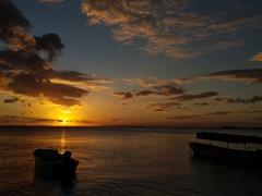 Sunset at Caballitos Del Mar; Punta Santa Maria