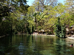 Ojo de agua, the perfect place to spend an afternoon