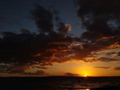 Sunset view at Punta Jesus Maria