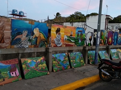 Art for sale; San Juan del Sur