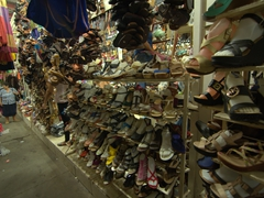 Shoes for sale; Masaya market