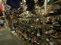 Shoes for sale; Masaya market