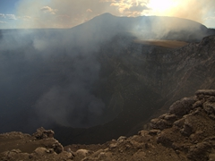 Masaya volcano is one of the easiest to access in the world as vehicles can drive right up to the rim!