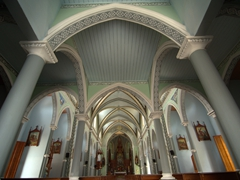 Interior view of Chapel Maria Auxiladora; Granada