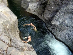 Alex and Robby; Somoto Canyon