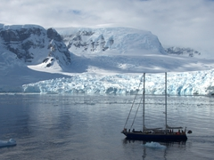 Sailing yacht to Antarctica - only for the foolhardy or brave!