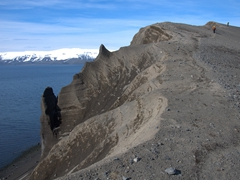 Optional hike to the top of Goddard Hill, which offers an amazing vista of the caldera of Deception Island