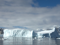 Tabular iceberg; Yalour Islands