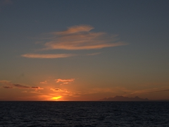 Sunset over the Bransfield Strait