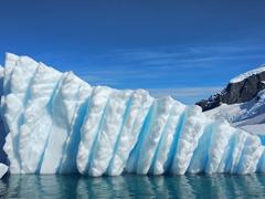 Blue iceberg; Cuverville Island