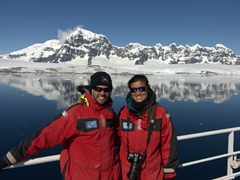 Photo of us cruising the Neumayer Channel