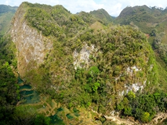 It is worth the arduous journey to reach Semuc Champey, a remote oasis near the town of Lanquin