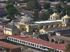 La Merced church as seen from Cerro de la Cruz hilltop