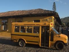 Antigua school bus