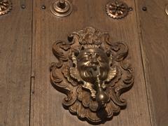 Door knocker; Antigua