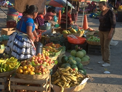 Antigua's outdoor market