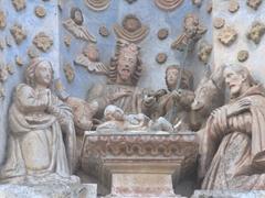 Facade detail on Iglesia Beatas de Belén; Antigua