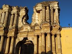 The ruins of El Carmen church; Antigua