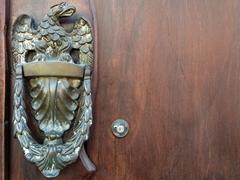 Antigua's colonial houses have unique door knockers