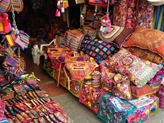 Calle Santander is the place to do all your souvenir shopping in Panajachel