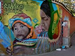 Street mural; Panajachel