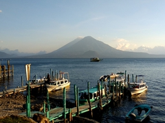 Lake Atitlan's water taxis