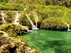 Natural water slides; Semuc Champey