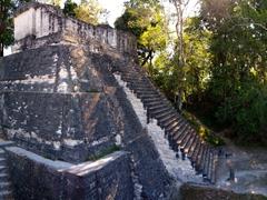 North Acropolis temple; Tikal