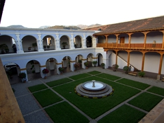 Courtyard at the CFCE (Training Center for Spanish Cooperation); Antigua