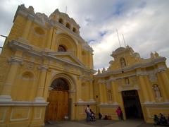The Church of San Pedro Apóstol; Antigua