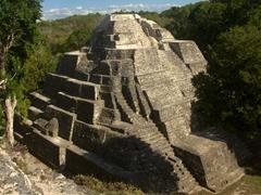Mayan temple at Yaxhá