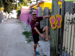 Barefoot alley - our kind of place!