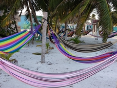 Inviting beach hammocks