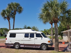 Meet our new home for the next 6 months! We love our Roadtrek 190 campervan (huge thanks to Joey from Quality RV Sales in Melbourne, FL)