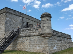 Visiting Fort Matanzas with Brandy