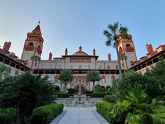 Ponce de Leon Hotel, built in 1888 as a luxury hotel. Today, it is part of Flagler College; St Augustine