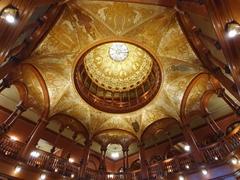Rotunda dome detail; Hotel Ponce de Leon