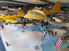 The world's largest Naval Aviation museum in the world displaying more than 150 restored aircraft; the Pensacola National Naval Aviation Museum is not to be missed!