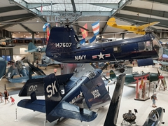 Plan to spend all day touring the National Naval Aviation Museum - it is free and ex-pilots give guided tours throughout the day