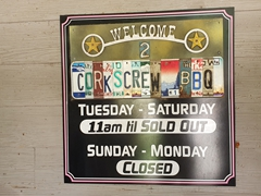 Get in line by 10:30 am to enjoy legendary Texas BBQ at Corkscrew BBQ; Houston